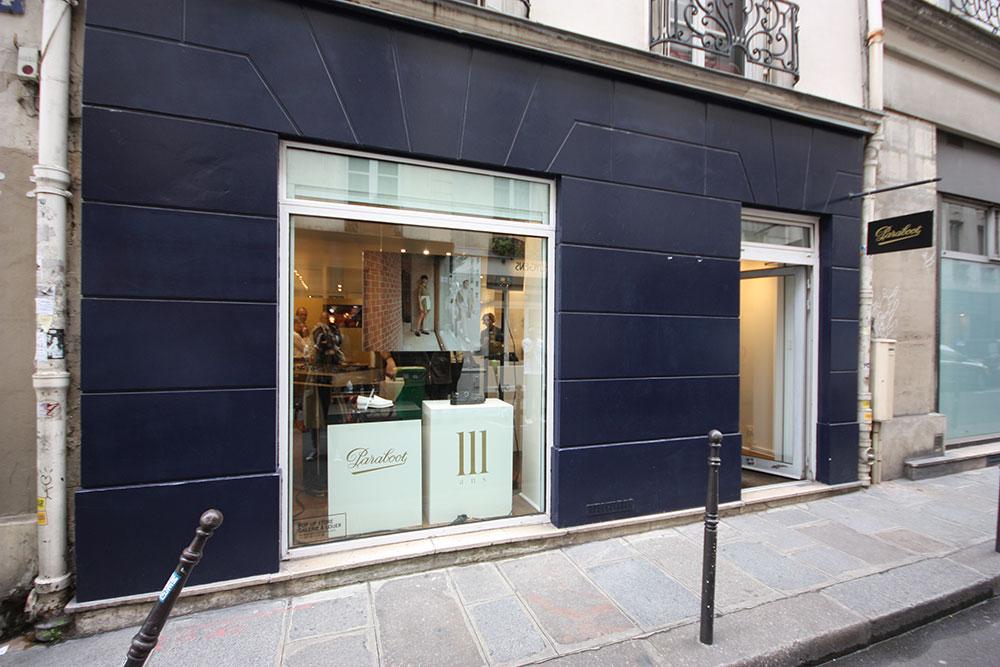 Location pop up store rue charlot marais