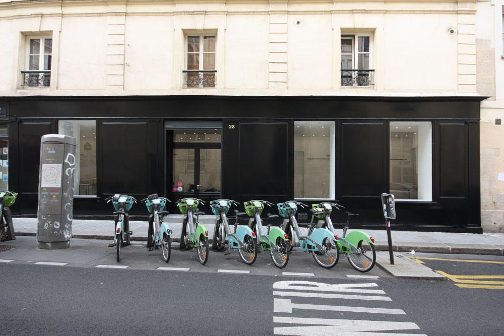 Location pop up store marais rue passante boutique ephemere