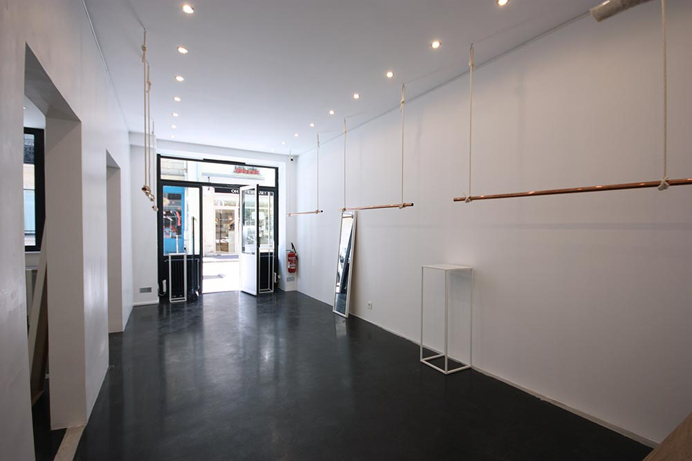 location pop up store rue Debelleyme marais