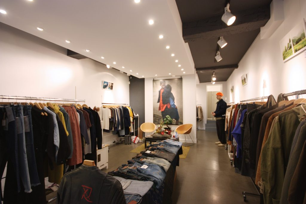 Location boutique ephemere paris marais