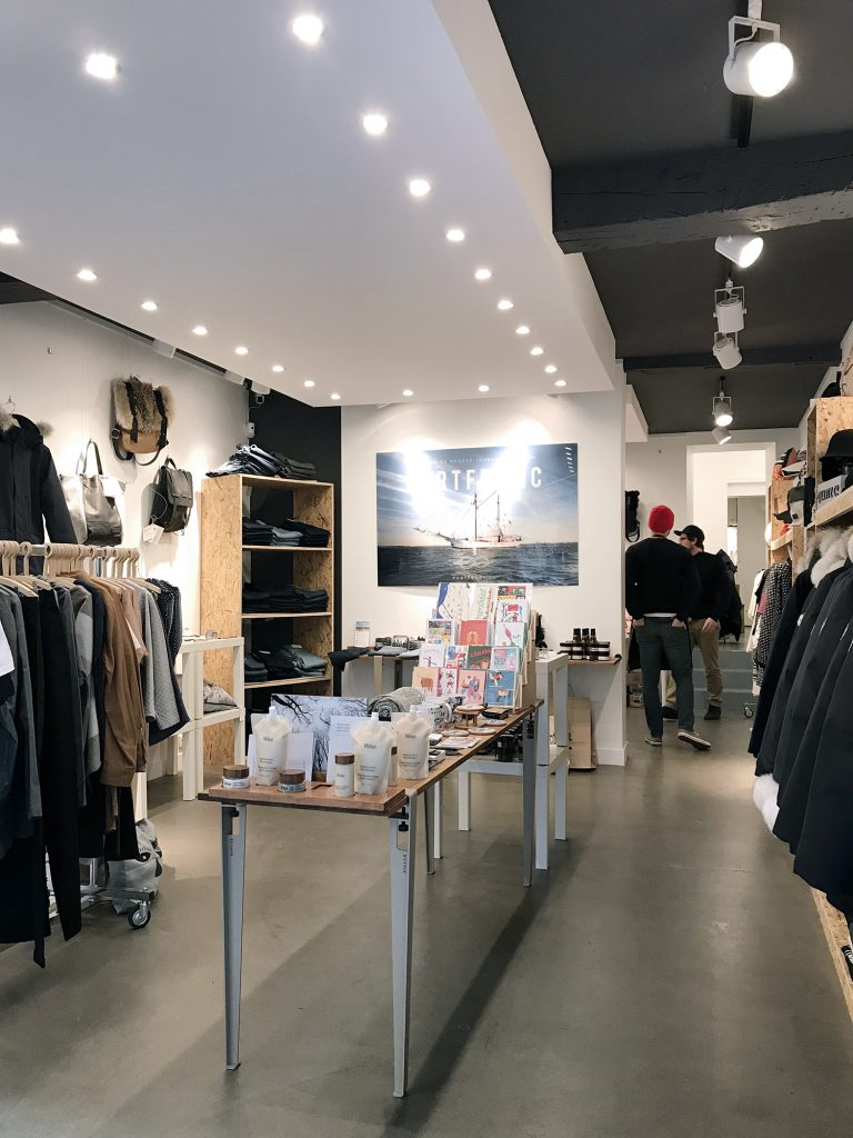 Location boutique pop up store marais