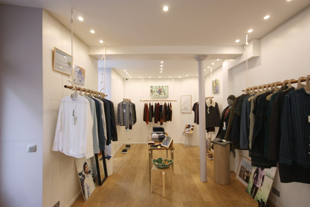 Location pop up store shop paris marais