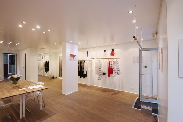 Showroom rental fashion week paris marais