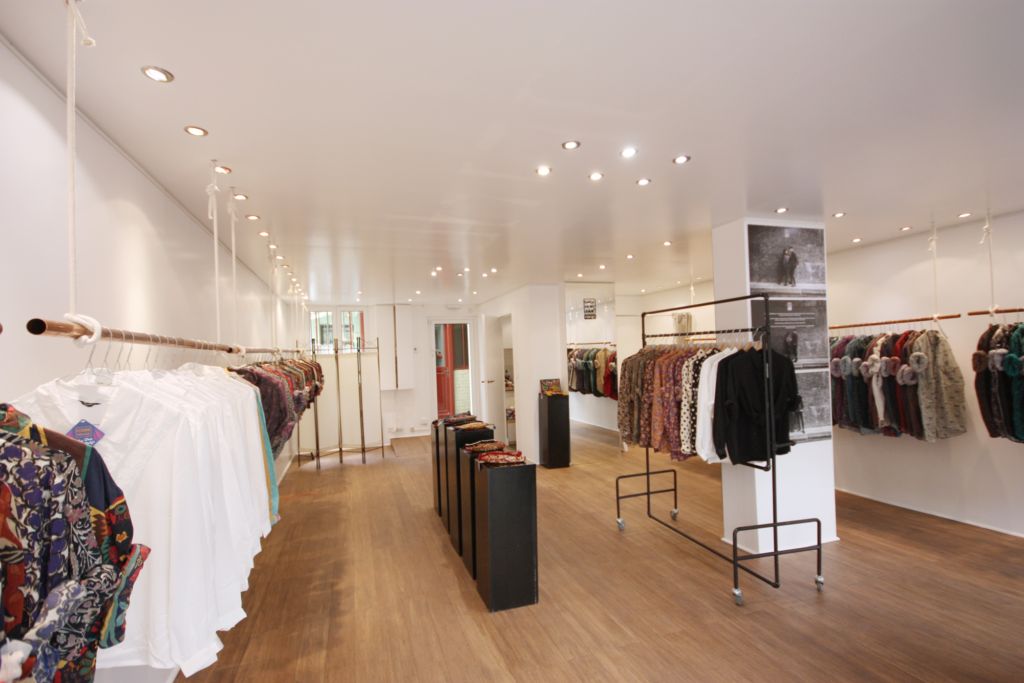 Location pop up store boutique paris
