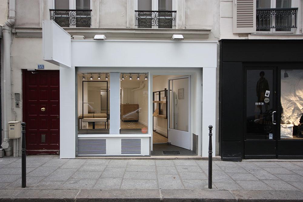 Location pop up store paris marais