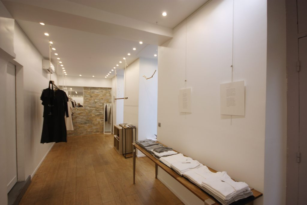 Boutique a louer pop up store marais