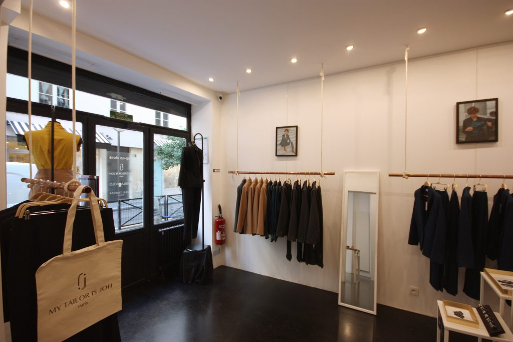 Location boutique ephemere paris