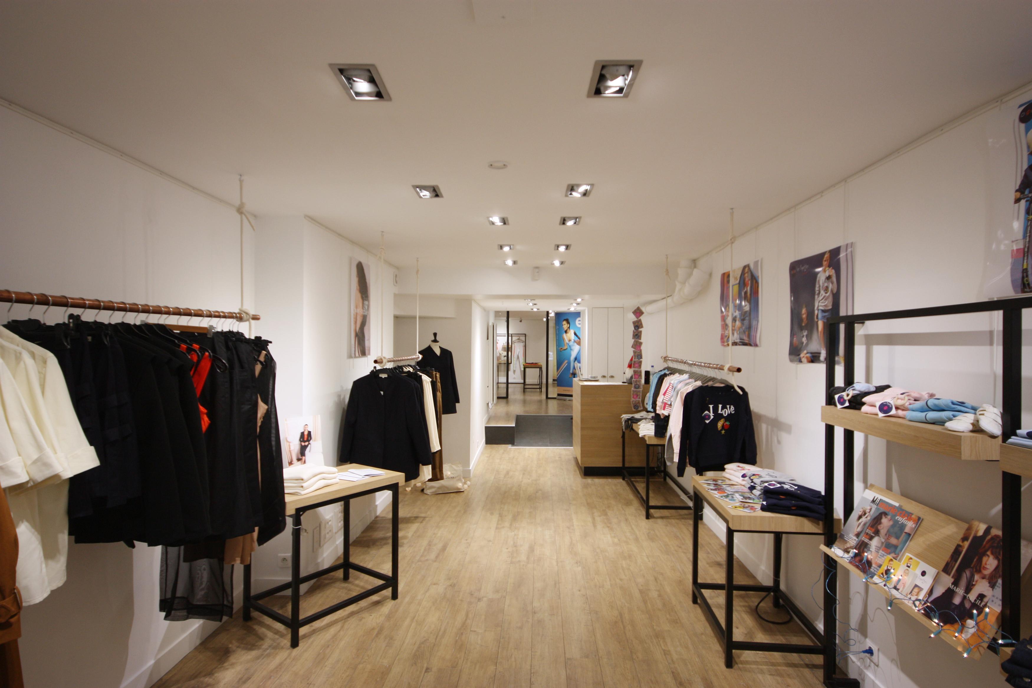 corner space to rent pop up store paris