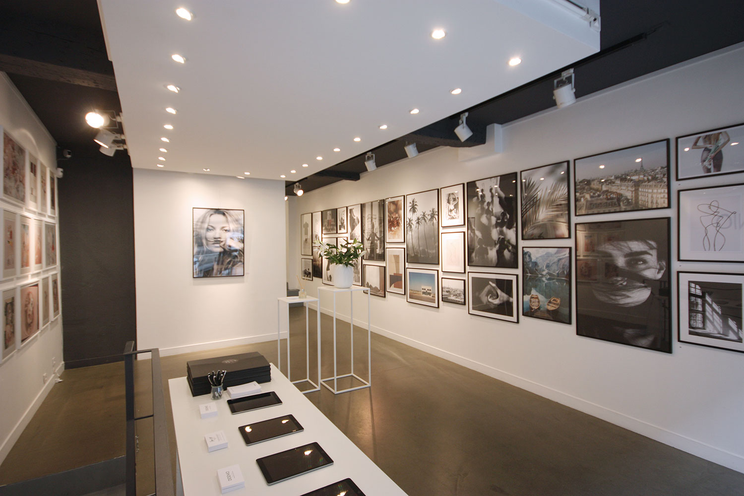 Rent an art gallery in Paris - Marais artist space