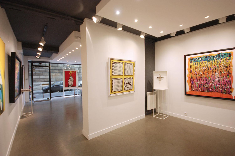 Rent an art gallery in Paris - Marais artist spaces