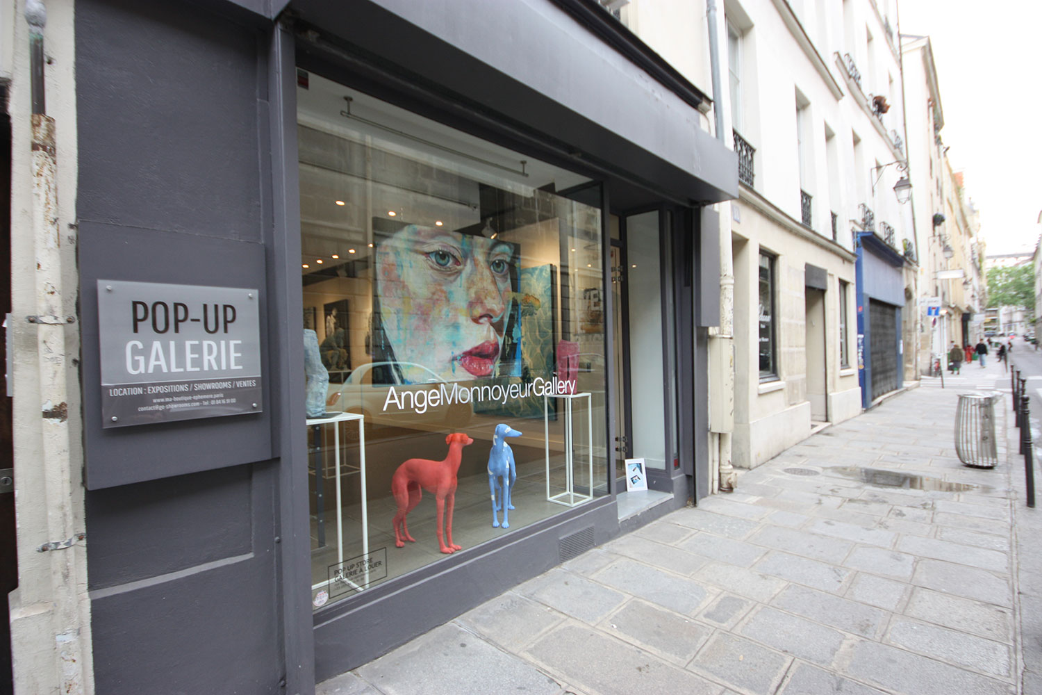 Rent an art gallery in Paris - Marais
