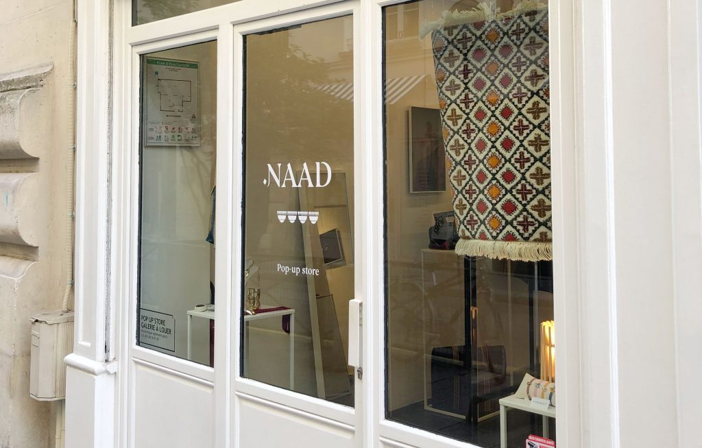 pop up store location paris marais
