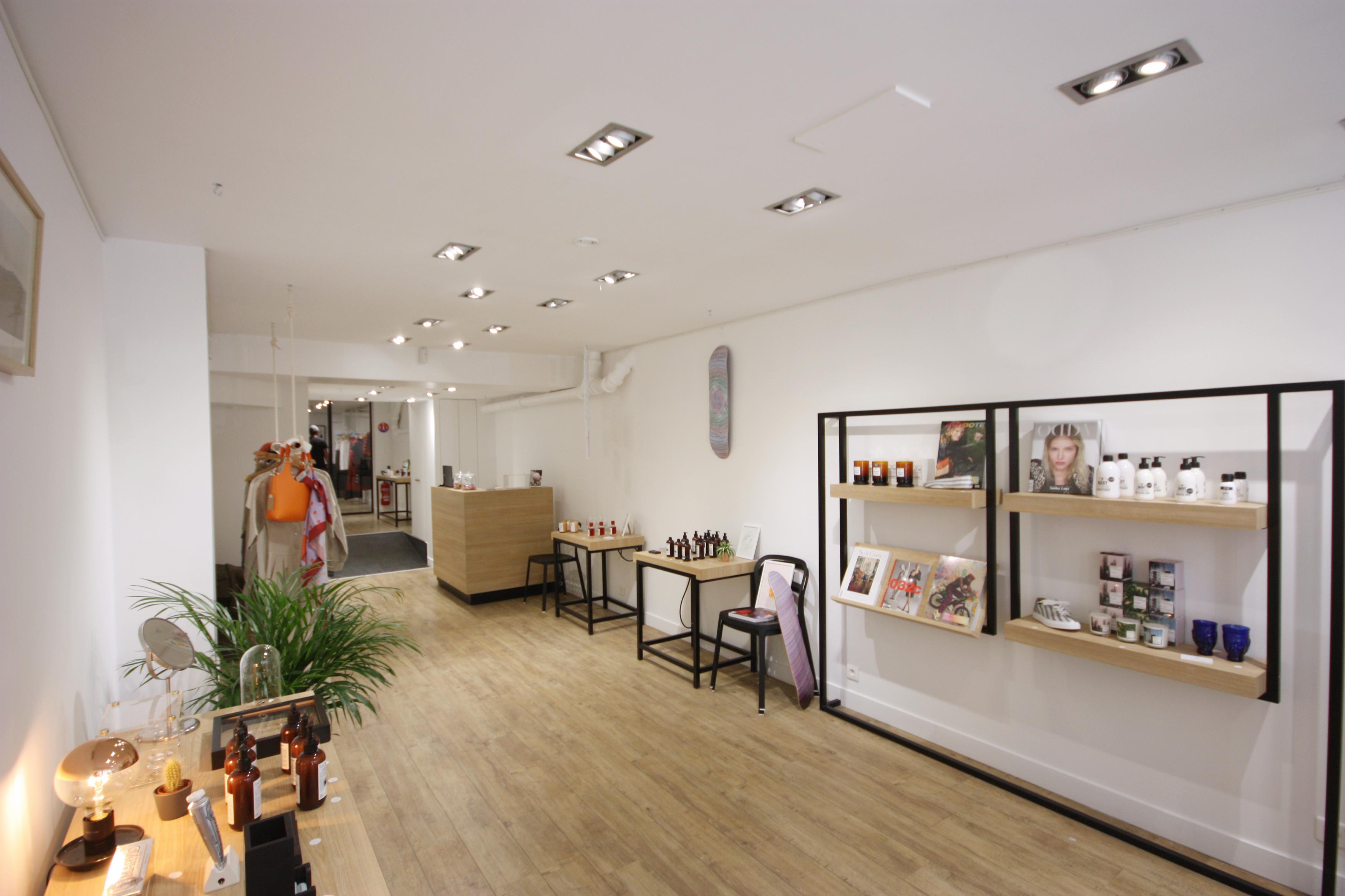pop up store rental paris france space shop 2