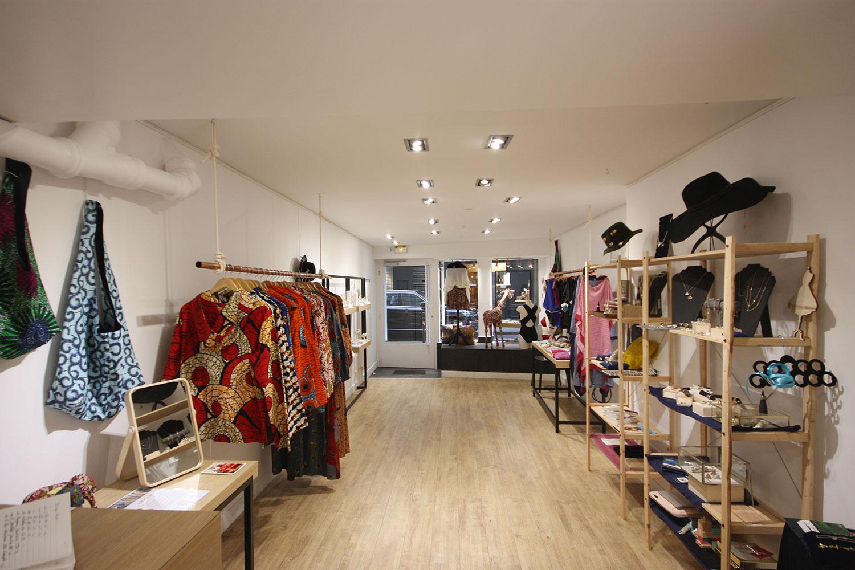 Location corner pop up store createur paris marais