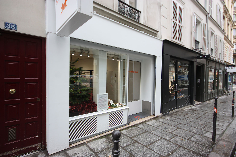 Louer un pop up store marais centre paris