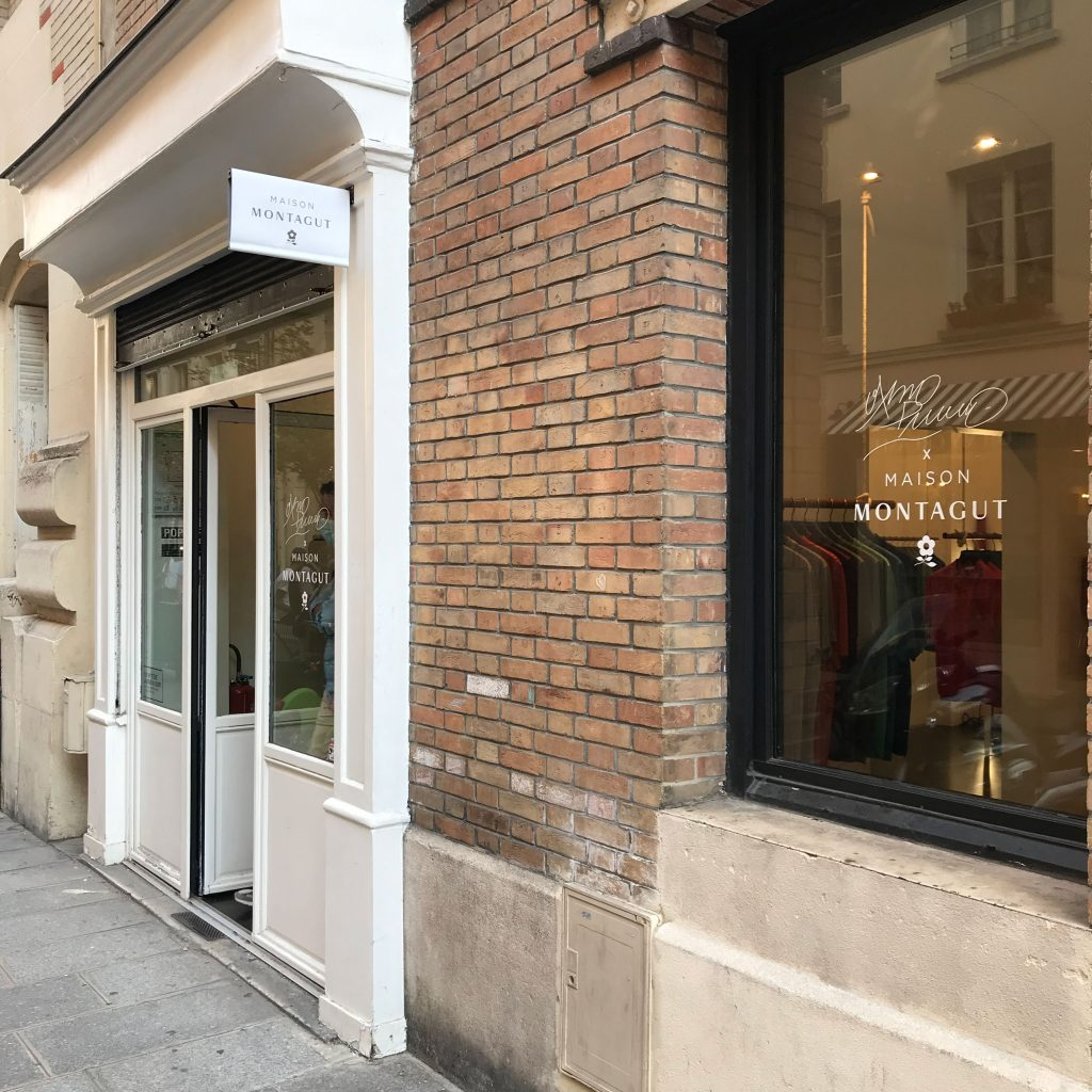 pop up store maison montagut paris marais