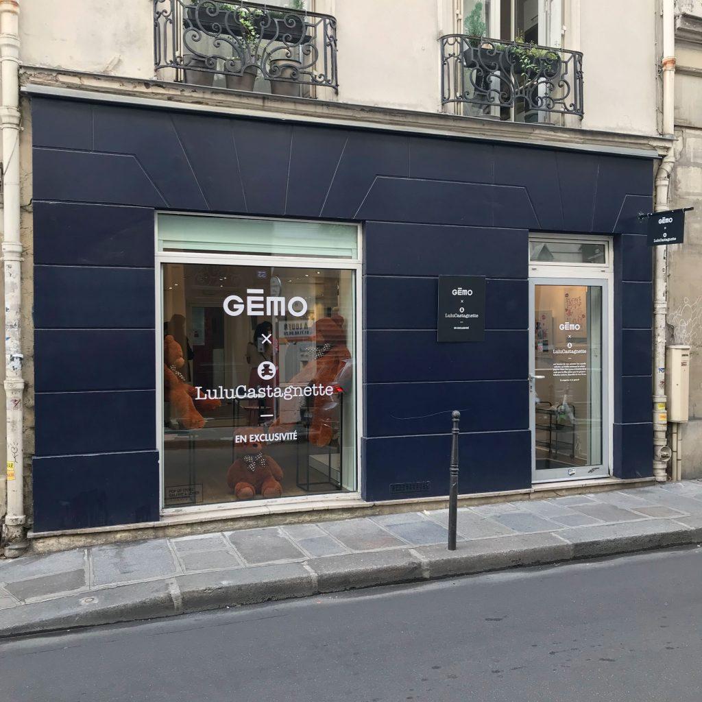 Location boutique ephemere rue charlot marais paris