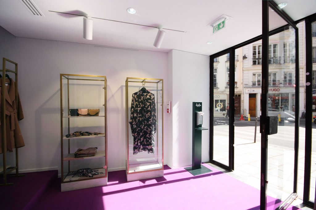 Lala Berlin pop up store paris