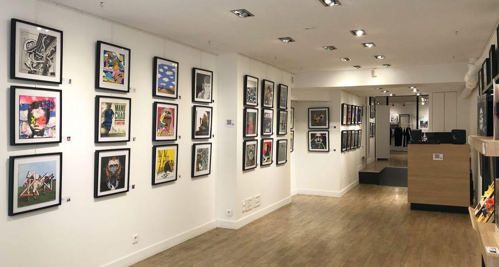 Location galerie exposition art paris marais