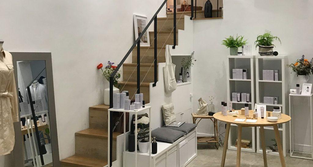 Location pop up store boutique rue passante paris