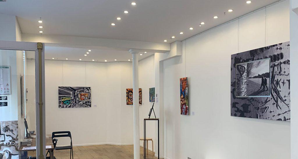 Exposition art ephemere paris marais
