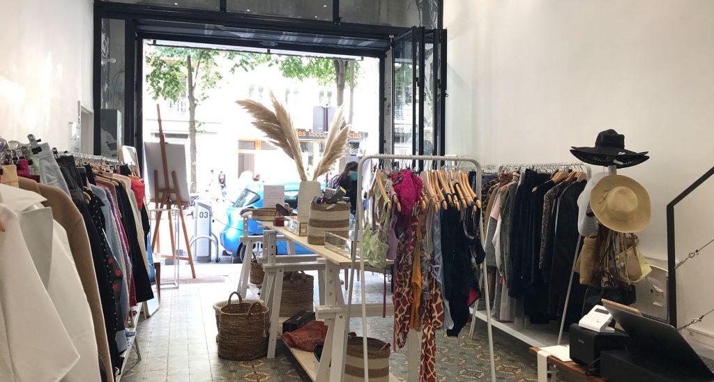 Pop up store Takk Paris Marais